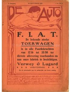 1910 DE AUTO MAGAZIN 39 NIEDERLÄNDISCH