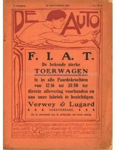 1910 DE AUTO MAGAZINE 39 DUTCH