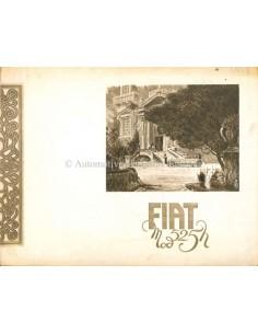 1929 FIAT 525 BROCHURE FRANS