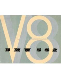 1954 BMW 502 V8 PROSPEKT ENGLISCH