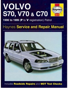 1996 - 1999 VOLVO S70 V70 C70 PETROL REPAIR MANUAL ENGLISH