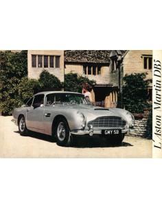 1963 ASTON MARTIN DB5 BROCHURE FRENCH