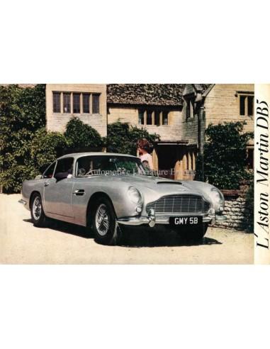 1963 ASTON MARTIN DB5 BROCHURE