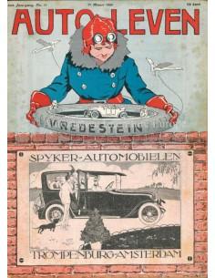 1920 AUTO-LEVEN MAGAZIN 11 NIEDERLÄNDISCH
