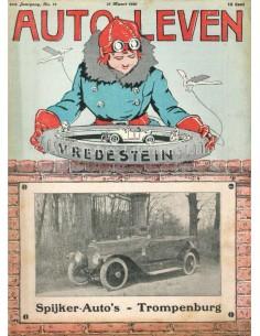 1920 AUTO-LEVEN MAGAZIN 13 NIEDERLÄNDISCH