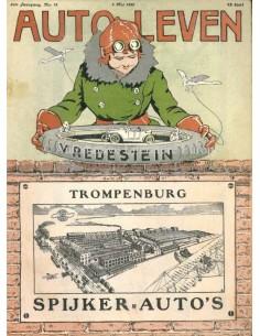 1920 AUTO-LEVEN MAGAZIN 18 NIEDERLÄNDISCH