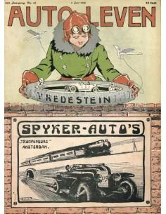 1920 AUTO-LEVEN MAGAZIN 22 NIEDERLÄNDISCH