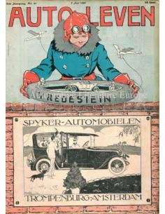 1920 AUTO-LEVEN MAGAZIN 23 NIEDERLÄNDISCH
