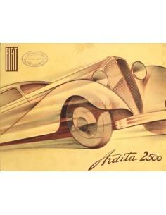 1935 FIAT ARDITA & ARIDTA SPORT 2500 BROCHURE FRANS