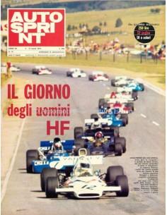 1972 AUTOSPRINT MAGAZIN 10 ITALIENISCH