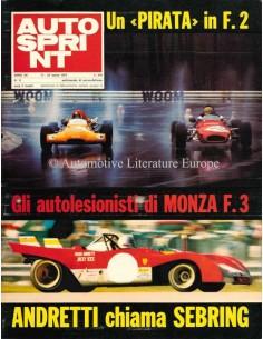 1972 AUTOSPRINT MAGAZIN 11 ITALIENISCH