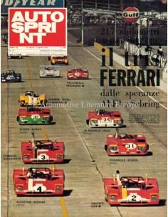 1972 AUTOSPRINT MAGAZIN 13 ITALIENISCH