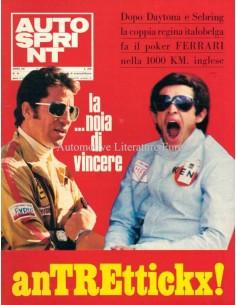 1972 AUTOSPRINT MAGAZIN 16 ITALIENISCH