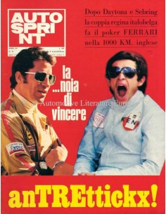 1972 AUTOSPRINT MAGAZINE 16 ITALIAANS