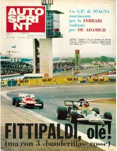1972 AUTOSPRINT MAGAZIN 18 ITALIENISCH