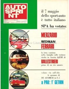 1972 AUTOSPRINT MAGAZIN 19 ITALIENISCH