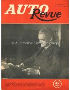 1923 AUTO REVUE MAGAZIN 1 NIEDERLÄNDISCH