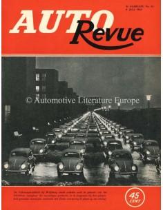 1953 AUTO REVUE MAGAZIN 14 NIEDERLÄNDISCH