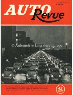 1953 AUTO REVUE MAGAZINE 14 DUTCH