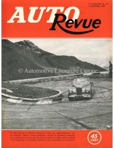 1953 AUTO REVUE MAGAZIN 16 NIEDERLÄNDISCH