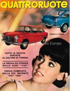 1965 QUATTRORUOTE MAGAZIN 11 ITALIENISCH