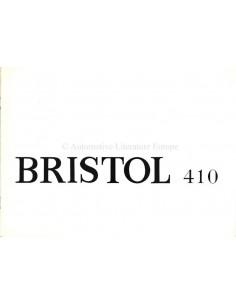 1968 BRISTOL 410 BROCHURE ENGLISH