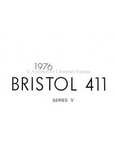 1976 BRISTOL 411 PROSPEKT ENGLISCH