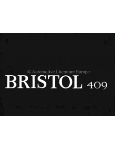 1965 BRISTOL 409 BROCHURE ENGLISH