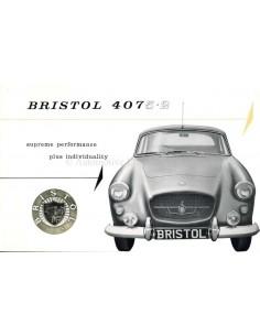1961 BRISTOL 407 BROCHURE ENGELS