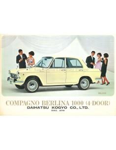 1967 DAIHATSU COMPAGNO BERLINA 800  BROCHURE ENGELS / SPAANS