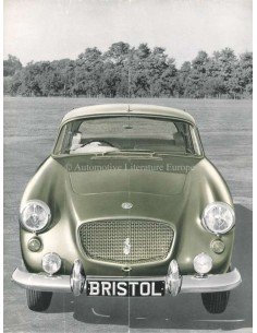 1959 BRISTOL 406 BROCHURE ENGELS