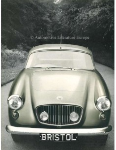 1964 BRISTOL 406 BROCHURE ENGELS
