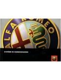 2006 ALFA ROMEO RADIO NAVIGATIE INSTRUCTIEBOEKJE FRANS