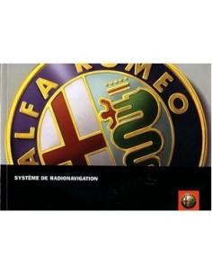 2006 ALFA ROMEO RADIO NAVIGATION OWNERS MANUAL FRENCH