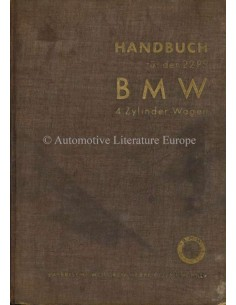 1934 BMW 309 OWNERS MANUAL GERMAN