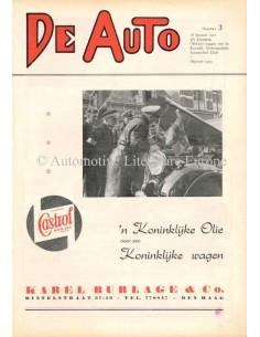 1951 DE AUTO MAGAZINE 3 NEDERLANDS