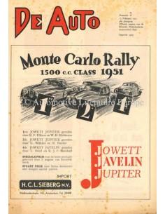 1951 DE AUTO MAGAZINE 7 NEDERLANDS