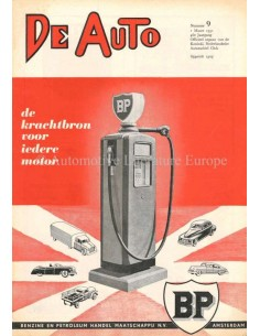 1951 DE AUTO MAGAZINE 9 NEDERLANDS
