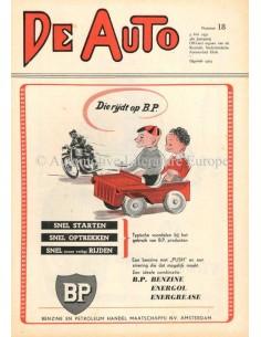 1951 DE AUTO MAGAZIN 18 NIEDERLÄNDISCH