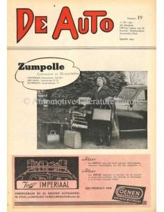 1951 DE AUTO MAGAZIN 19 NIEDERLÄNDISCH
