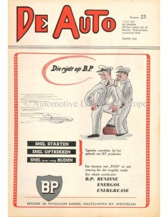 1951 DE AUTO MAGAZIN 23 NIEDERLÄNDISCH