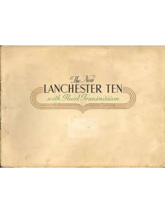 1946 LANCHESTER TEN BROCHURE ENGELS