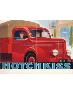 1946 HOTCHKISS CAMION PROSPEKT FRANZÖSISCH