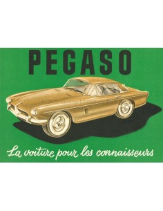 1957 PEGASO Z-103 BROCHURE FRENCH