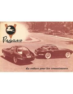 1954 PEGASO Z-102 B BS BROCHURE FRANS