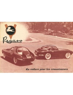 1954 PEGASO Z-102 B BS BROCHURE FRENCH