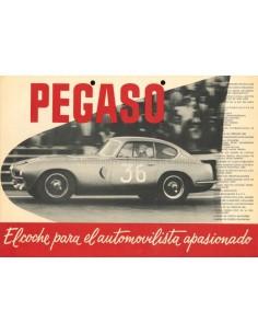1955 PEGASO Z-102 BROCHURE SPAANS