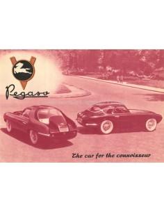 1954 PEGASO Z-102 B BS PROSPEKT ENGLISCH
