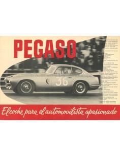 1955 PEGASO 102 BROCHURE SPANISCH