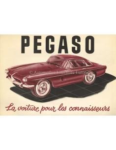 1956 PEGASO Z-103 LEAFLET FRANS